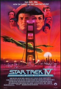 Star trek poster the voyage home 1987