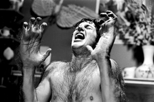 David Naughton in AN AMERICAN WEREWOLF IN LONDON, 1981.