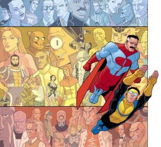 Top comics Invincible cover