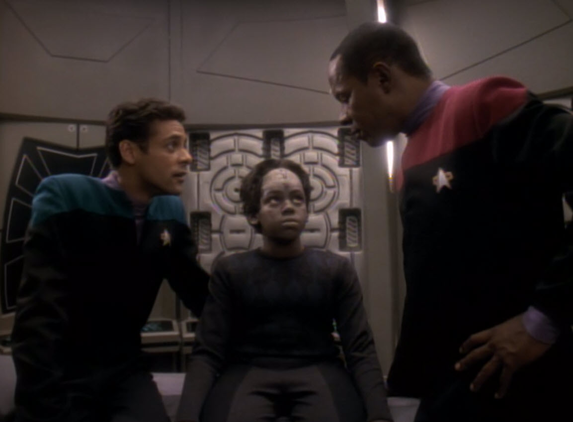 Retro TV Review: Star Trek DS9 SSN Three Episode Six The Abandoned ...